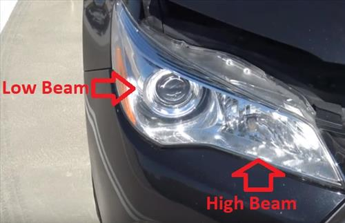 How to Replace Headlight Bulb 2011-2019 Toyota Camry Low Beam High Beam Location