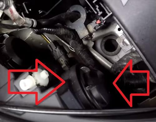 How to Replace Headlight Bulb 2012–2016 Chevy Malibu Step 4