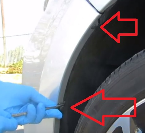 How to Replace Headlight Bulb 2015-2018 Toyota Corolla Low Beam Step 2
