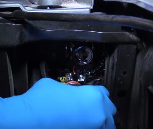 How to Replace Headlight Bulbs 2014-2019 Chevy Silverado Step 11