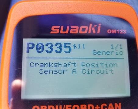 How To Fix Kia Spectra P0335 Crankshaft Position Sensor 2