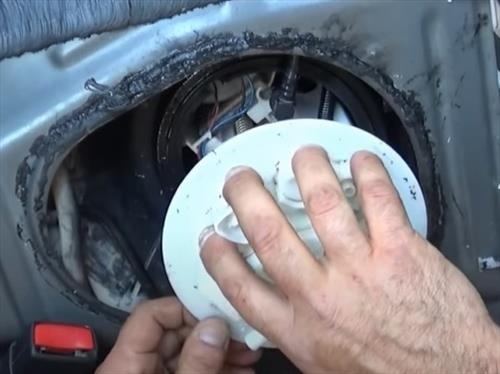 How To Replace 2012 Toyota Corolla Fuel Pump Step 7