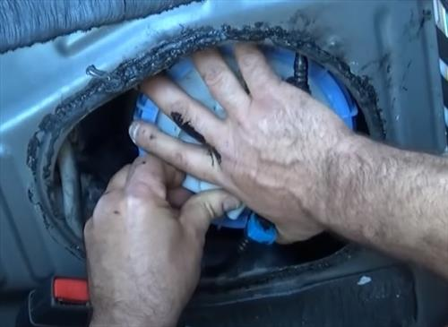 How To Replace 2012 Toyota Corolla Fuel Pump Step 9