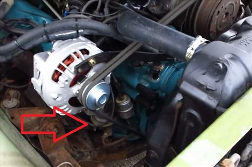 How To Replace a Fuel Pump Dodge 383 Engine Pic 2