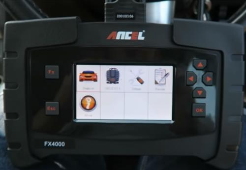 Best OBDII Scan Tools with ABS 2021 Ancel FX4000