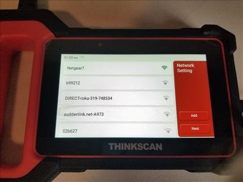 Review ThinkScan Plus S4 OBD2 Scanner WiFi