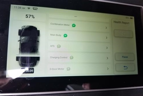 TOPDON ArtiDiag800BT Scanning for OBDII Codes and Errors 2