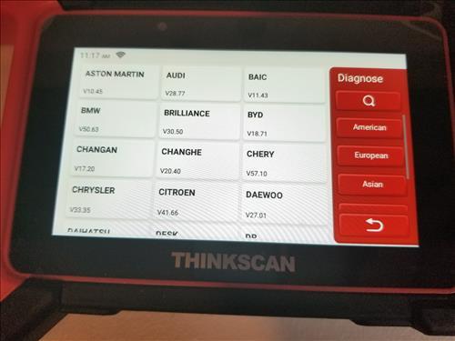 ThinkScan Plus S4 OBD2 Scanner 1