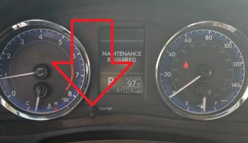 How To Reset the Maintenance Required 2019 Toyota Corolla Trip Button