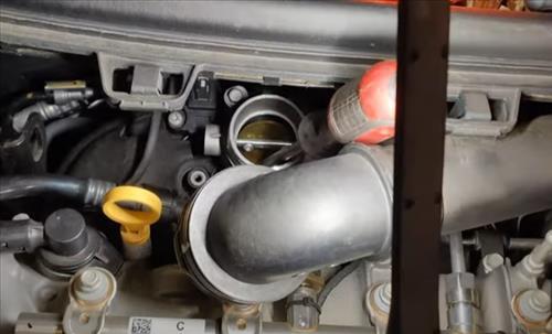 Throttle Body P1101 Clean