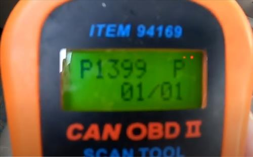 What is a P1399 OBDII Engine Code